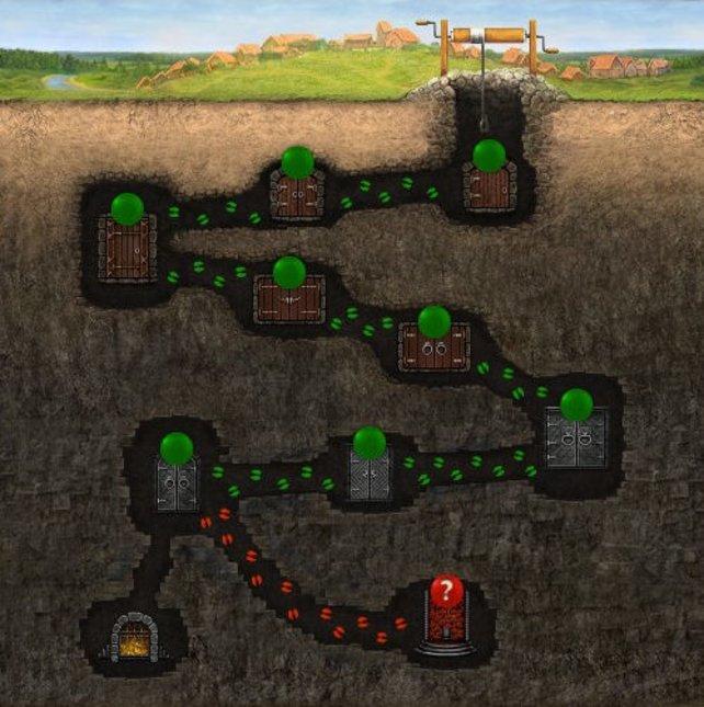 Die Unterwelt ist für Spieler ab Level 25 verfügbar und soll eine Abwechslung zum Kampfplatz sein.
