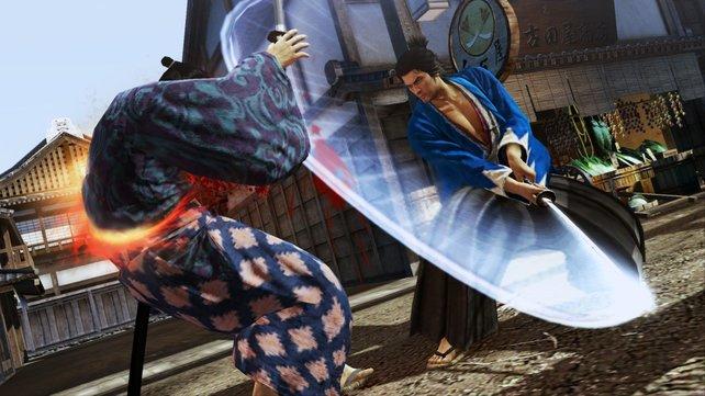 Der neue Yakuza-Teil Ishin auf PS4 gehört zu den interessanteren Spielen der TGS.