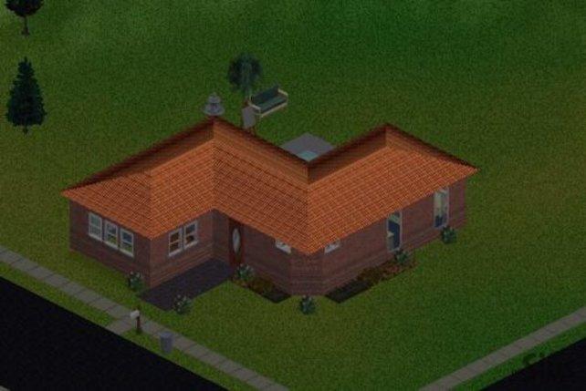 Ein zwar noch kleines Haus, aber schön anzuschauen.