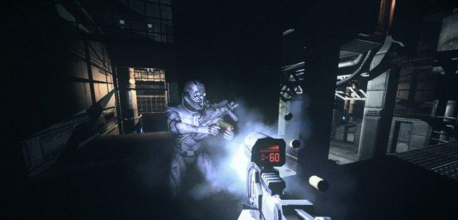 Im Dunkel ist gut munkeln, Riddick vertraut auf seine Superaugen.