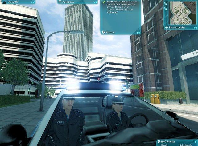 Tatü-tata, die Polizei ist da - und lebt gefährlich in den Straßen Deutschlands.