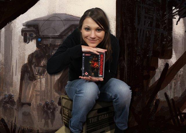 Annes Spiel für den Weltuntergang: Metal Gear Solid 4 - Guns of the Patriots.