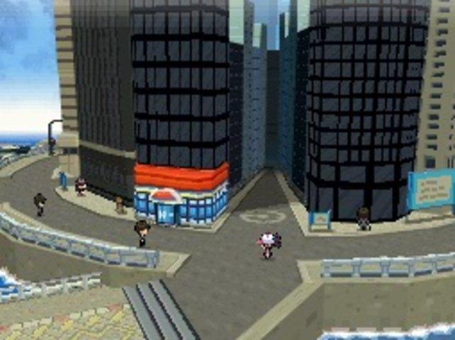 Stratos City wirkt durch die 3D-Gestaltung bombastisch.