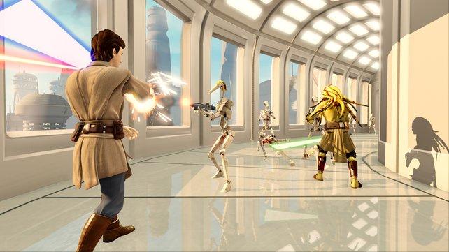 Kinect + Star Wars = Jedi-Macht für Zuhause?