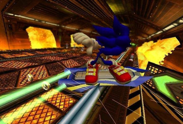 Stunt à la Sonic