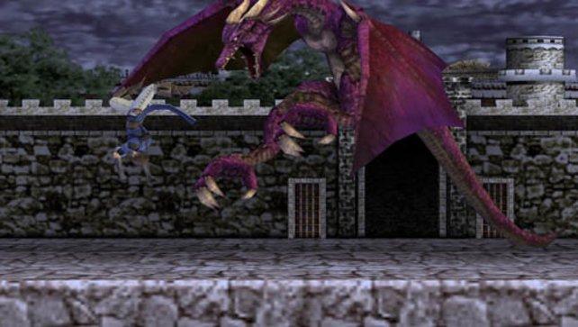 In jedem Castlevania muss es scheinbar mindestens einen Drachen geben.