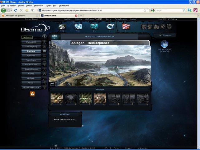 Browsergames by Gameforge ist ein Qualitätsmerkmal.