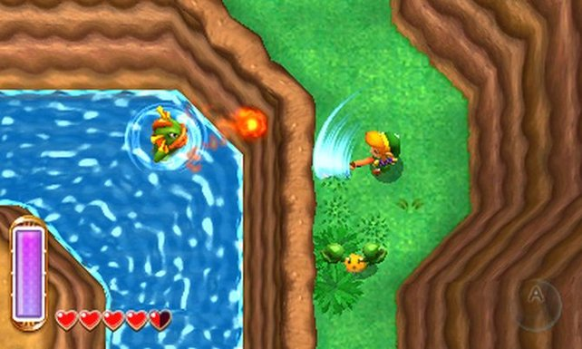 Im neuen Zelda schaut ihr wieder aus der Vogelperspektive auf Link.