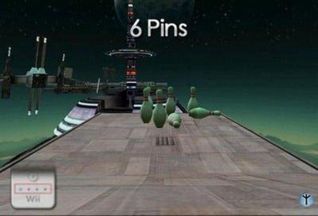 """Spielt Bowling lieber bei """"Wii Sports"""" statt bei """"Vertigo""""."""