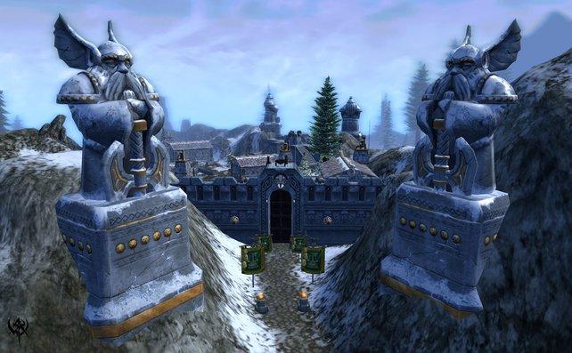Das Tor zur Zwergen-Stadt