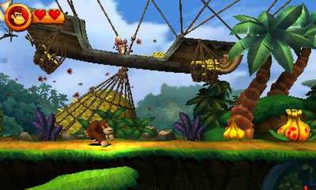 Die Wii-Version sieht trotz des 3D-Effekts hübscher und schärfer aus.