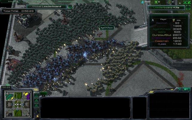Marine Arena: Massenschlachten um die totale Kartendominanz.