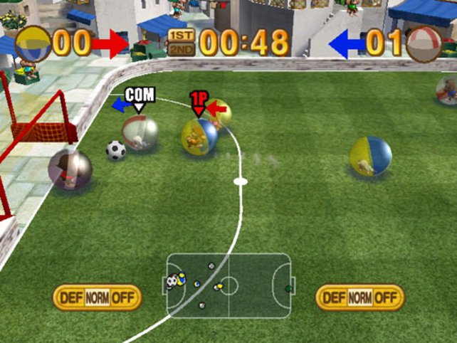 Minispiel Fussball