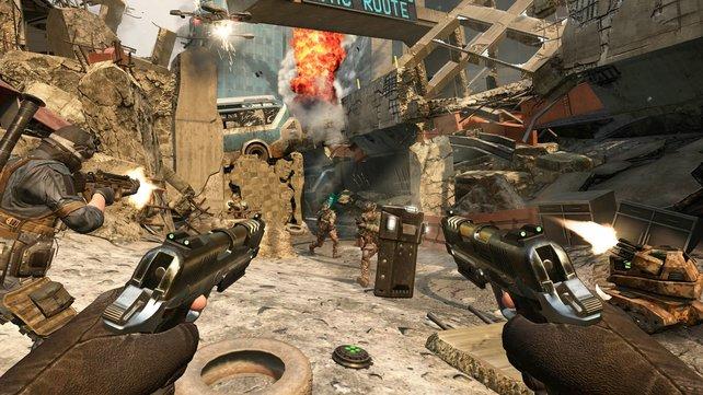 Packende Online-Gefechte sind für ein Call of Duty unabdingbar.