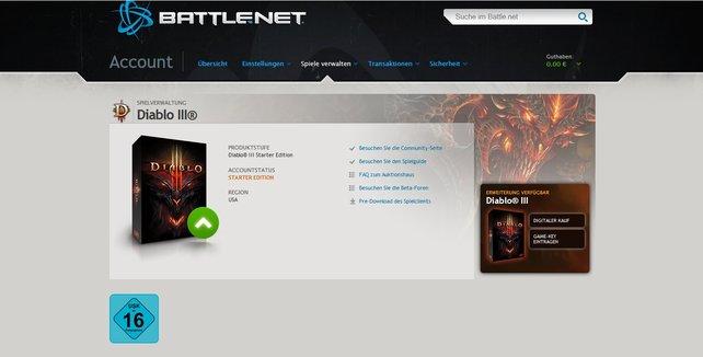 Saugt euch schon jetzt Diablo 3 aus dem Battle.net!