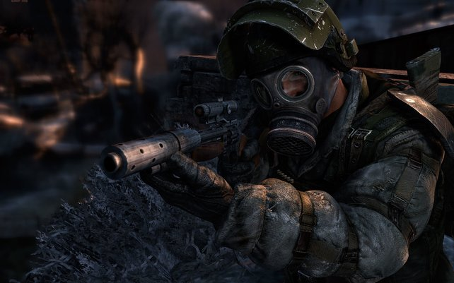 Nur mit Gasmaske und eisernem Willen überlebt ihr in der Unterwelt Moskaus.