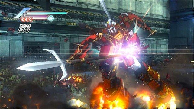 Dieser Roboter zieht dem Laserschwert eine Hellebarde vor - Dynasty Warriors lässt grüßen!