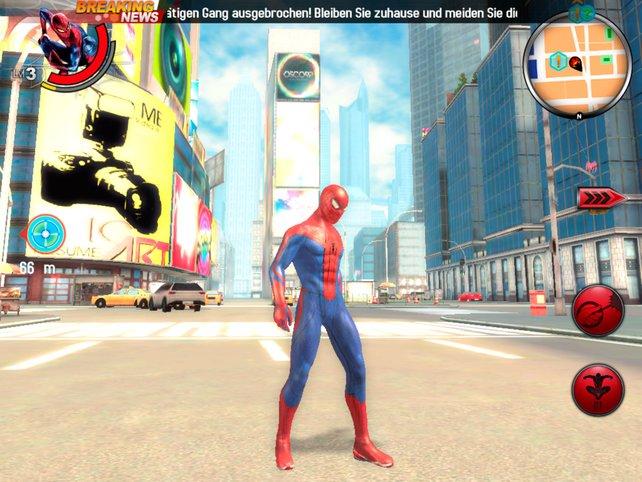 Der Spinnenmann kämpft und hangelt sich durch New York.