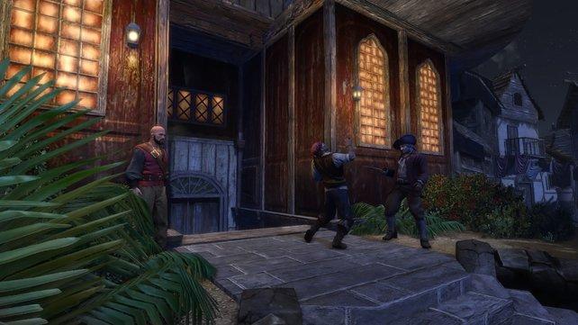 Raub und Mord gehören in Port Royale zum Alltag.