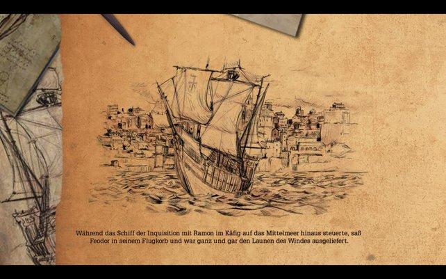 Wo bringt euch das Korsarenschiff wohl hin?