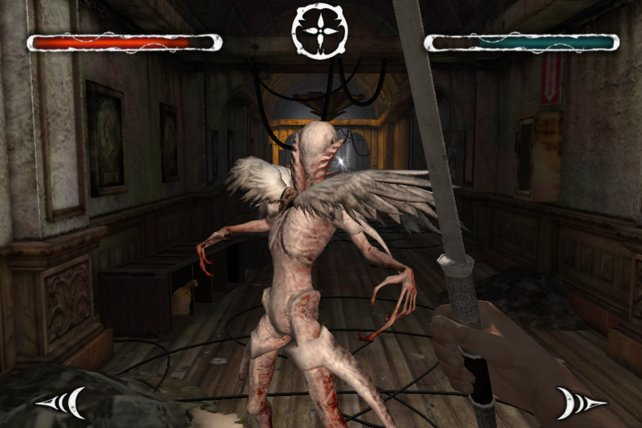 Gegen solche Monster hilft nur noch das Schwert als letzte Therapie.