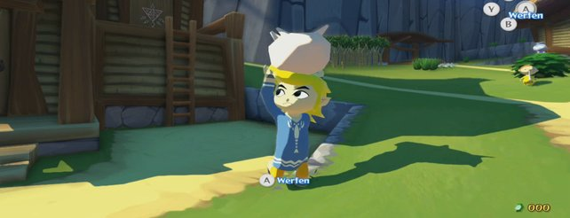 The Legend of Zelda - The Wind Waker: Neues Video zeigt Inseln und Gegner