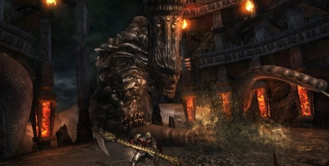 König Minos ist blind und verlässt sich voll und ganz auf seinen Riechkolben.