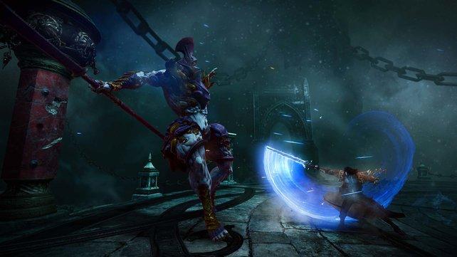 Lasst euch von der Grafikpracht nicht täuschen. In Bewegung offenbart Lords of Shadow 2 recht grobe Kanten.