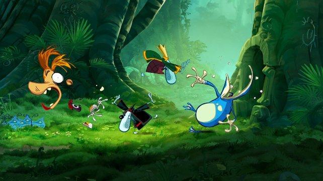 Raymans Animationen sind urkomisch.