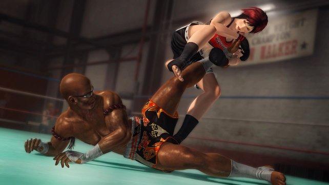 Neuling Mila setzt auf eine Mischung aus Kampfsportarten.