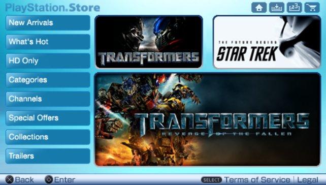 Angebot: Wer noch keinen PSN-Account besitzt, bekommt einen Gutschein für Transformers.