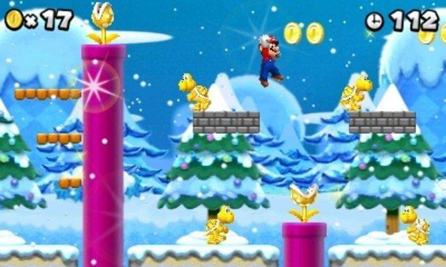 Kein Mario-Spiel ohne Eis-Level!