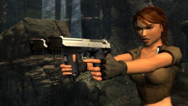 Tomb Raider Legend: Nach drei Jahren Pause schießt sich Lara wieder ganz nach oben.