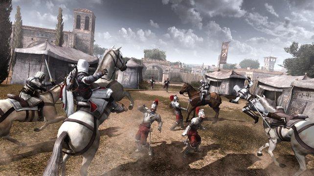 In besonderen Momenten rücken eure Assassinen als Kavallerie an.