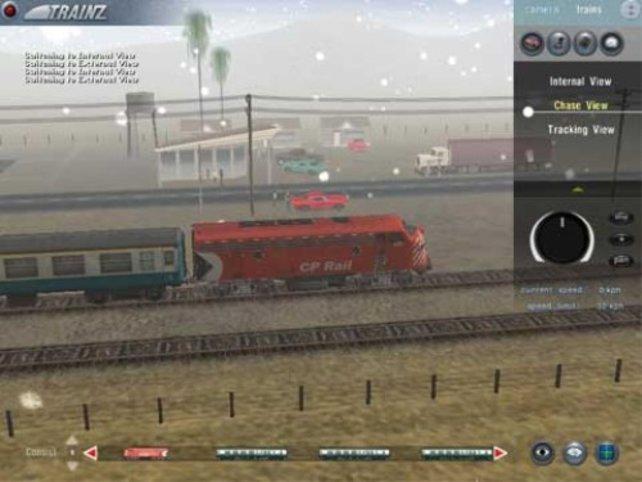 Ein Personenzug