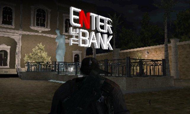 Euer Auftrag: Rein in die Bank!