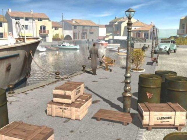 Ermittlungen am Hafen