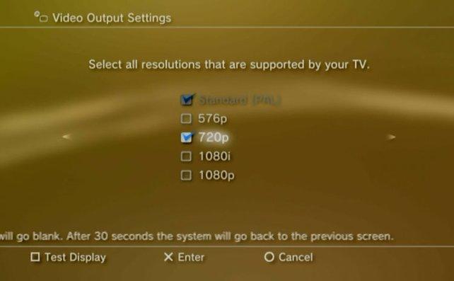 Für die Aufnahme passt ihr die Bildschirmauflösung von PC und Konsole an.