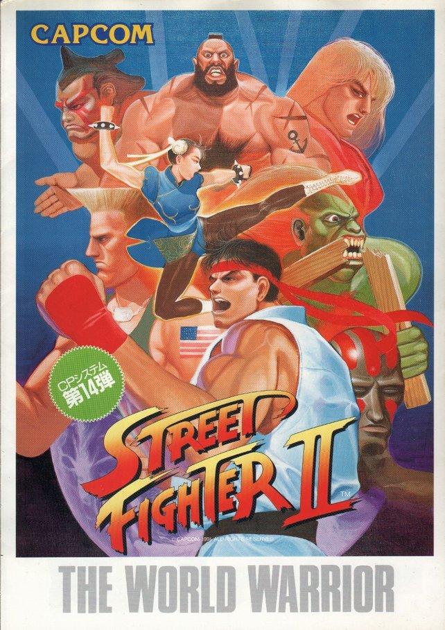 Street Fighter 2 erschien 1991 als Arcade-Titel in den Spielhallen.