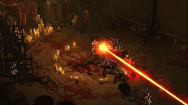 Selbstverständlich durchstreift ihr in Diablo 3 viele Höhlen und Verliese.