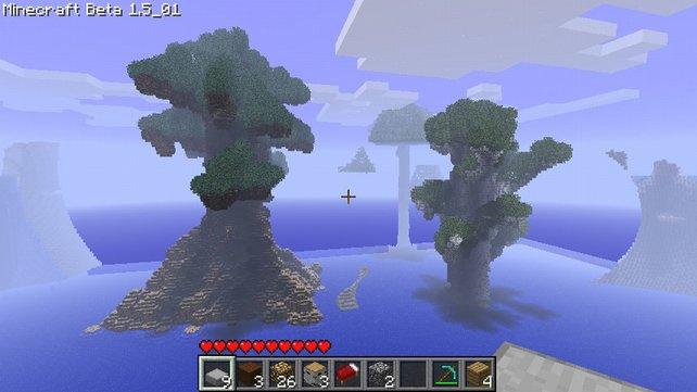 Diese Mammutbäume stellen die natürliche Flora von Minecraft in den Schatten.