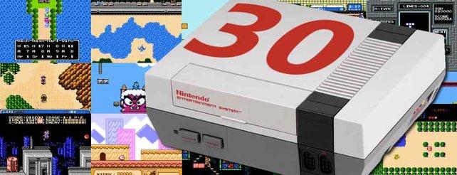 Das westliche Gehäuse des Nintendo Entertainment Systems ist grau und kantig.