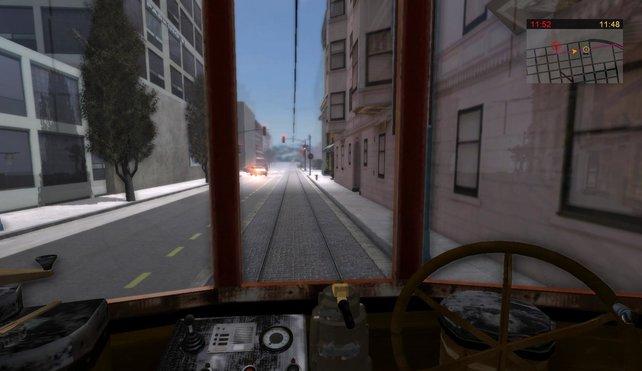 In Bussen und Straßenbahnen macht ihr San Francisco unsicher.