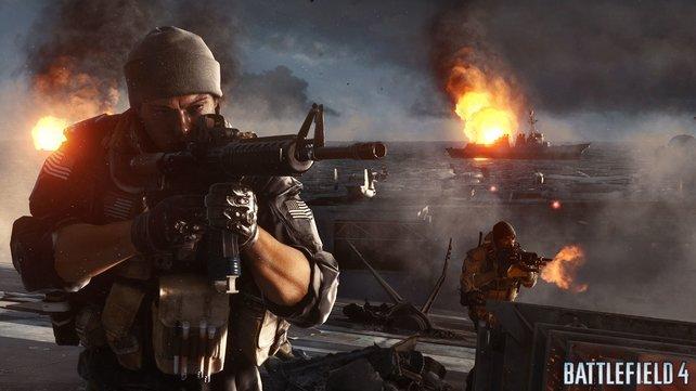 Vor allem online überzeugt Battlefield 4 auf ganzer Linie.