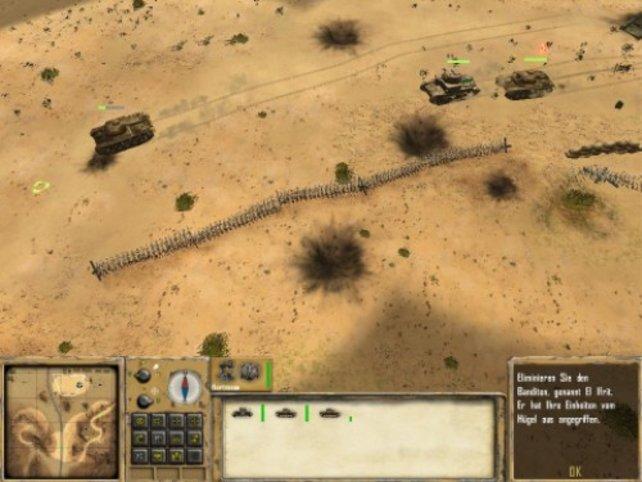 Panzer sind sehr detailiert dargestellt