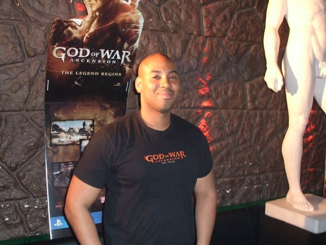Jason McDonald ist für die Kämpfe in God of War - Ascension verantwortlich.