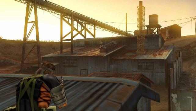 Big Boss treibt sich auch auf Dächern herum.