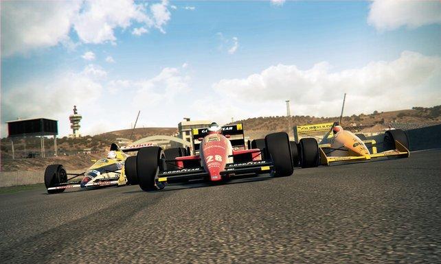 Heiße Reifen, brennender Asphalt: F1 2013 versetzt euch in die Rolle eines Rennfahrers.