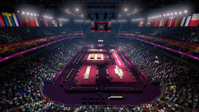 Die Wettkämpfe finden an den Originalschauplätzen statt.