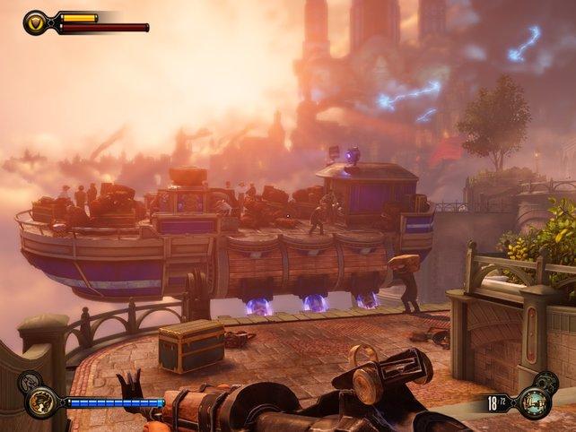 Bioshock Infinite gehört zu den aktuellen Top-Spielen mit Unreal Engine 3.